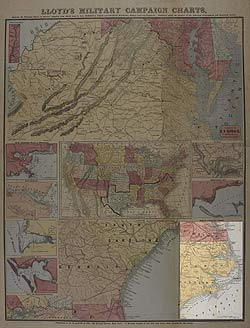 Lloyd's Military Campaign Charts: North Carolina Coast
